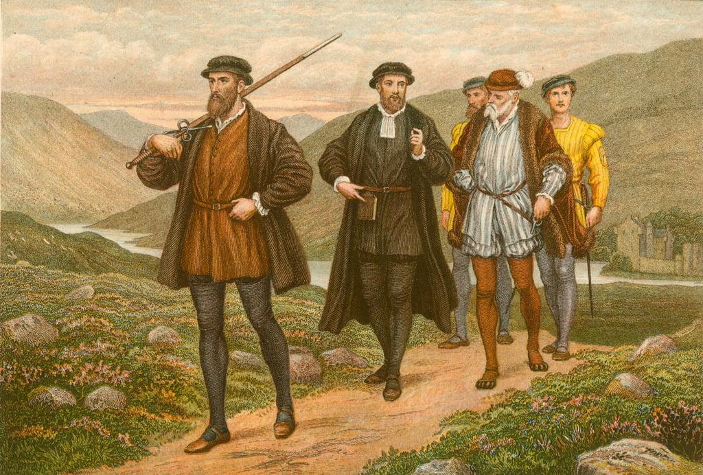جون نوكس يحمل السيف قبل جور ...